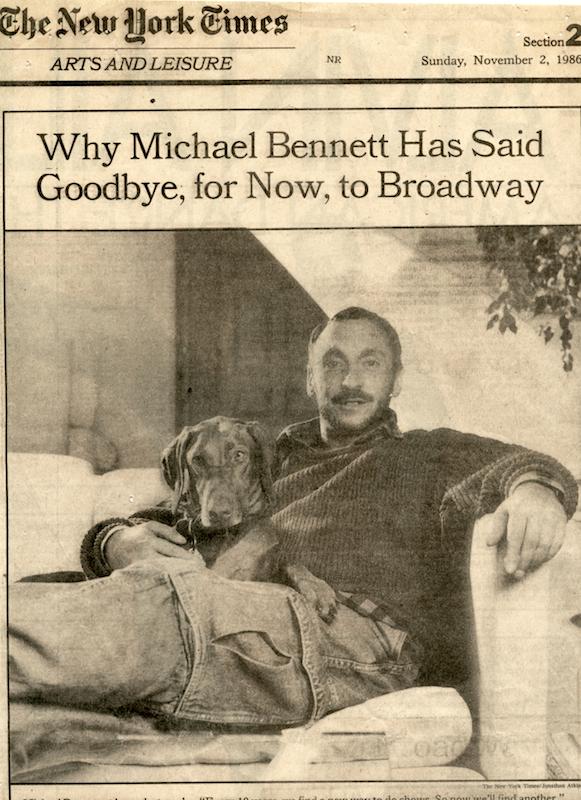 Michael Bennett at Home